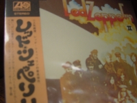 """Led Zeppelin, Led Zeppelin II - Japanese LP Replica in a CD (with OBI Sash)"" - Product Image"