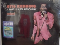 """Otis Redding, Live In Europe"" - Product Image"