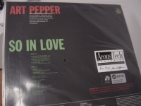 """Art Pepper, So In Love (2 LPs)"" - Product Image"