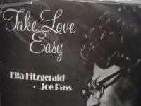 """""""Ella Fitzgerald & Joe Pass, Take Love Easy (2 LPs Low #d Pressing) - 180 Gram - 45 Speed 2 LPs"""" - Product Image"""