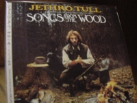 """Jethro Tull, Songs From The Wood - Japanese Mini Sleeve - CURRENTLY SOLD OUT"" - Product Image"