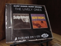 """The Lively Ones, Surf Rider/Surf Drums (2 LPs on 1 CD)"" - Product Image"