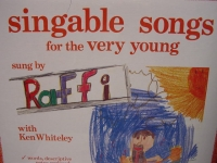 """""""Raffi, Singable Songs For The Very Young"""" - Product Image"""