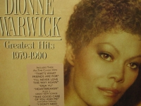 """Dionne Warwick, Greatest Hits 1079 to 1990"" - Product Image"