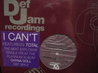 """Foxy Brown, I Can't/ My Life/ Ride (12"" 45 Singles"" - Product Image"