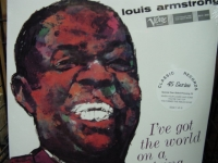 """""""Louis Armstrong, I've Got The World On A String - 4 LPs 180 Gram - 45 speed"""" - Product Image"""