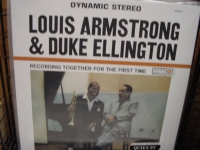 """Louis Armstrong & Duke Ellington, Recording Together For The First Time - 180 Gram"" - Product Image"