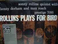 """Sonny Rollins, Rollins Plays For Bird"" - Product Image"