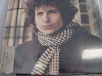 """Bob Dylan, Blonde On Blonde - Gold Sticker"" - Product Image"