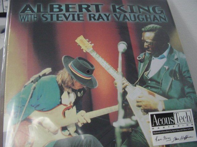 """Albert King & Stevie Ray Vaughan, In Session - 2 LP Set - 180 Gram 45 speed - Numbered"" - Product Image"