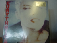 """""""Eurythmics, Be Yourself Tonight - 180 Gram Silver Sticker"""" - Product Image"""