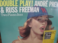 """""""Andre Previn & Russ Freeman, Double Play - Two Jazz Pianos"""" - Product Image"""