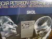 """Oscar Peterson & Stephane Grappelli, Skol - CURRENTLY SOLD OUT"" - Product Image"