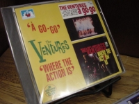 """The Ventures, A Go-Go & Where The Action is"" - Product Image"