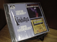 """""""The Ventures, Guitar Freakout & Super Psychedelics"""" - Product Image"""