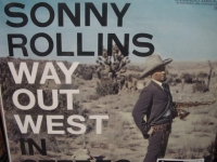 """Sonny Rollins, Way Out West - 45 Speed - 180 Gram -Double LP - CURRENTLY SOLD OUT"" - Product Image"