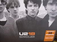 """U2, 18 Singles Collection - Double LP"" - Product Image"