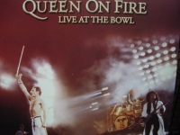 """""""Queen, On Fire - Live At The Bowl - 3 LPS -  Eurosealed - LAST COPY"""" - Product Image"""