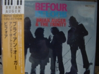 """""""Brian Auger, Befour - """"OBI Mini Replica LP In a CD - Japanese - Product Image"""