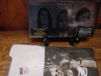 """""""Nirvana, When The Lights Go Out - Japan Issue 3 CD Box w Bonus of LG Tee"""" - Product Image"""