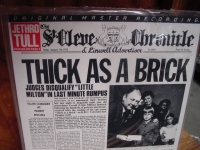 """""""Jethro Tull, Thick As A Brick MFSL FACTORY SEALED  Half-Speed Japanese Pressing Low #15 """" - Product Image"""