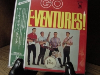 """""""The Ventures, Go With The Ventures -  Mini LP Replica In A CD"""" - Product Image"""