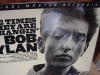 """Bob Dylan, The Times They Are A-Changin' MFSL LP"" - Product Image"