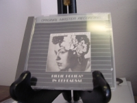 """Billie Holiday, In Rehearsal -  Sealed MFSL Aluminum CD - - Product Image"