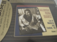 """""""Thelonious Monk, Live At Monterey Jazz Festival '63 Vol. 2 - Factory Sealed MFSL Gold CD"""" - Product Image"""