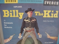 """Aaron Copeland, Billy the Kid - Factory Sealed DCC 180 Gram"" - Product Image"
