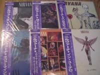 """""""Nirvana - 7 OBI LP Set - CURRENTLY SOLD OUT"""" - Product Image"""