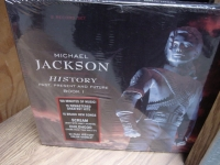 """Michael Jackson, Past Present & Future 3 LP Box Set"" - Product Image"