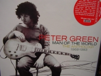 """""""Peter Green, The Best of Peter Green's - The Anthology Man Of The World 1968-1983 - 180 Gram Double LP"""" - Product Image"""