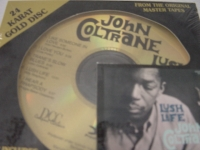 """John Coltrane, Lush Life - Factory Sealed DCC 24-Karat Gold CD"" - Product Image"