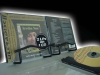 """Aretha Franklin, Lady Soul/Now (2 LPs in 1 CD) MFSL Factory Sealed 24 Karat Gold CD - CURRENTLY SOLD OUT"" - Product Image"