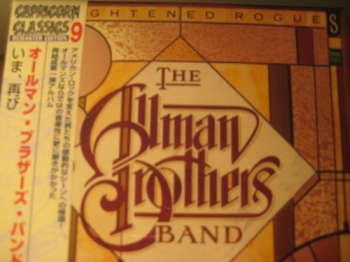 """""""Allman Brothers, Enlightened Rogues - Mini LP Replica In A CD - Japanese"""" - Product Image"""
