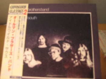 """""""Allman Brothers, Idlewild South - Mini LP Replica In A CD - Japanese"""" - Product Image"""