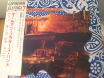 """""""Allman Brothers, Wiin Lose Or Draw - Mini LP Replica In A CD - Japanese"""" - Product Image"""