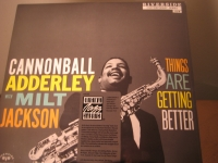 """""""Cannonball Adderley w Milt Jackson, Things Are Getting Better"""" - Product Image"""