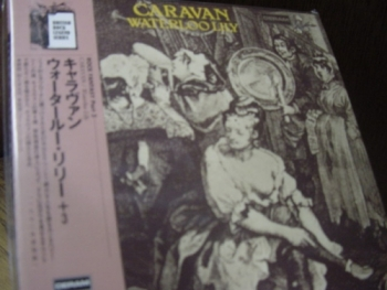 """Caravan, Waterloo Lily - Mini OBI LP Replica in a CD - Limited Edition - Japanese re-mastered"" - Product Image"