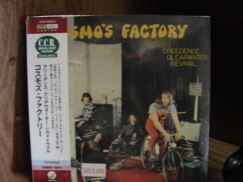 """""""Creedence Clearwater Revival, Cosmo's Factory - OBI Mini LP Replica In A CD - Japanese - CURRENTLY SOLD OUT"""" - Product Image"""