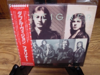 """""""Foreigner, Double Vision - Mini LP Replica In A CD - Japanese"""" - Product Image"""