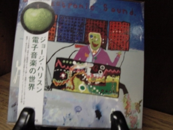 """""""George Harrison, Electronic Sounds - Mini LP Replica In A CD - Japanese"""" - Product Image"""