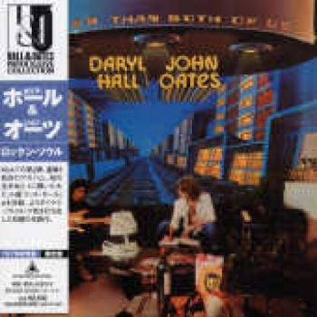 """""""Hall & Oates, Bigger Than Both - OBI Mini LP Replica In A CD - Japanese"""" - Product Image"""