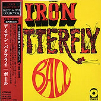 """""""Iron Butterfly, Ball - Mini LP Replica In A CD - Japanese"""" - Product Image"""