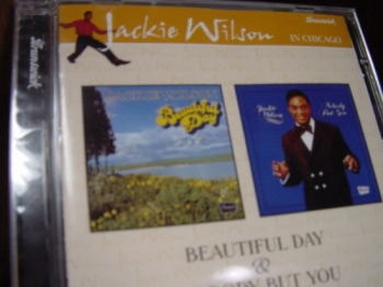 """Jackie Wilson, Beautiful Day & Nobody But You - 2 Titles on One CD"" - Product Image"