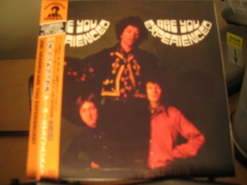"""""""Jimi Hendrix, Are You Experienced - First Edition Japanese Mini LP Replica In A CD"""" - Product Image"""