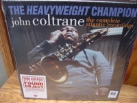 """John Coltrane, Heavyweight Champion - The Atlantic Years Complete Recordings - Numbered - 180 Gram -- 12 Titles in a Box Set - Product Image"