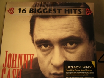 """Johnny Cash, 16 Greatest Hits"" - Product Image"