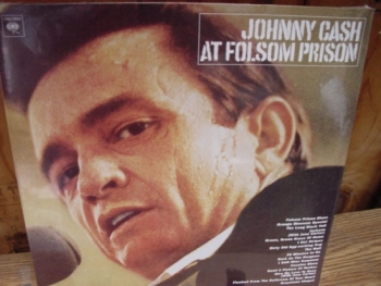 """Johnny Cash, At Folsom Prison - U.K. Pressing"" - Product Image"